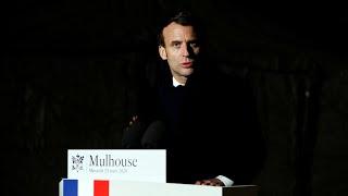 """Coronavirus : Emmanuel Macron promet """"un plan massif d'investissement"""" pour l'hô"""