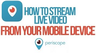 How To Stream Live Video From Your iPhone Using Periscope - Twitter's Periscope Tutorial