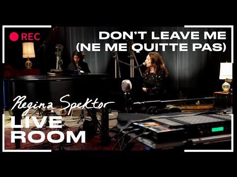 "Regina Spektor - ""Don't Leave Me (Ne Me Quitte Pas)"" captured in The Live Room"