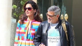 Amal Clooney Stuns in Rainbow Dress After Major Wardrobe Mishap at Cannes Film Festival