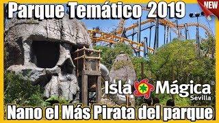 El MAS pirata del PARQUE - Isla Mágica 2019 - Sevilla