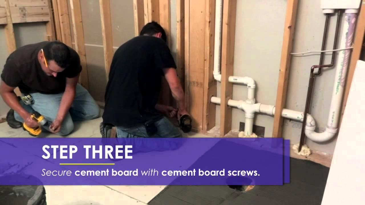 How To Install A Custom Waterproof Shower Base U0026 Drain Assembly Cleveland  Columbus Cincinnati   YouTube