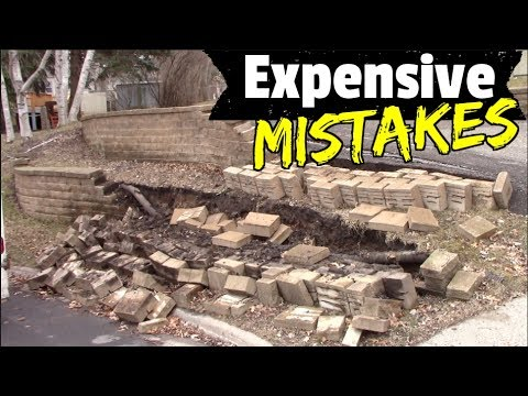 Retaining Walls How To Avoid Costly Mistakes And Diy