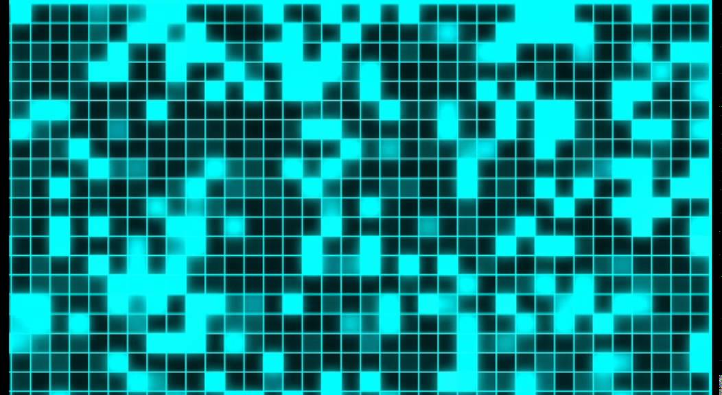 videogame pixel background animation free footage hd cyan square