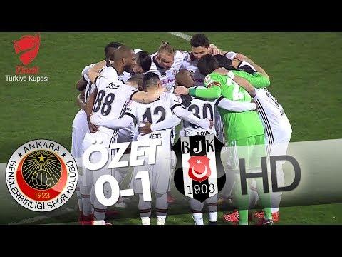Gençlerbirliği - Beşiktaş Maç Özeti