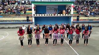 Don Bosco College, Tura BA 3rd Sem Group Dance on Techersday 2017(4)