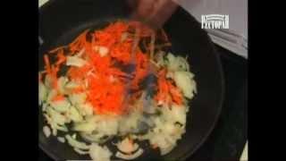 Куриный рулет с омлетом и овощами.asf