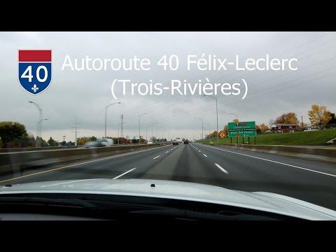 2014-14 | Autoroute 40 Sud - Trois-Rivières (Québec) - Sortie 210 à 197