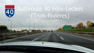 14-15 | Autoroute 40 - Trois-Rivières (QC) - Sortie 210 à 197