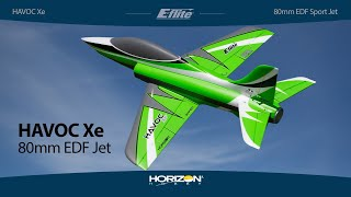 E-flite® Havoc Xe - PNP & BNF Basic 80mm EDF Sport Jet