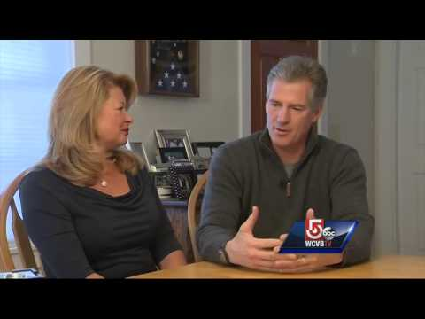 At home with New Hampshire Senate candidate Scott Brown