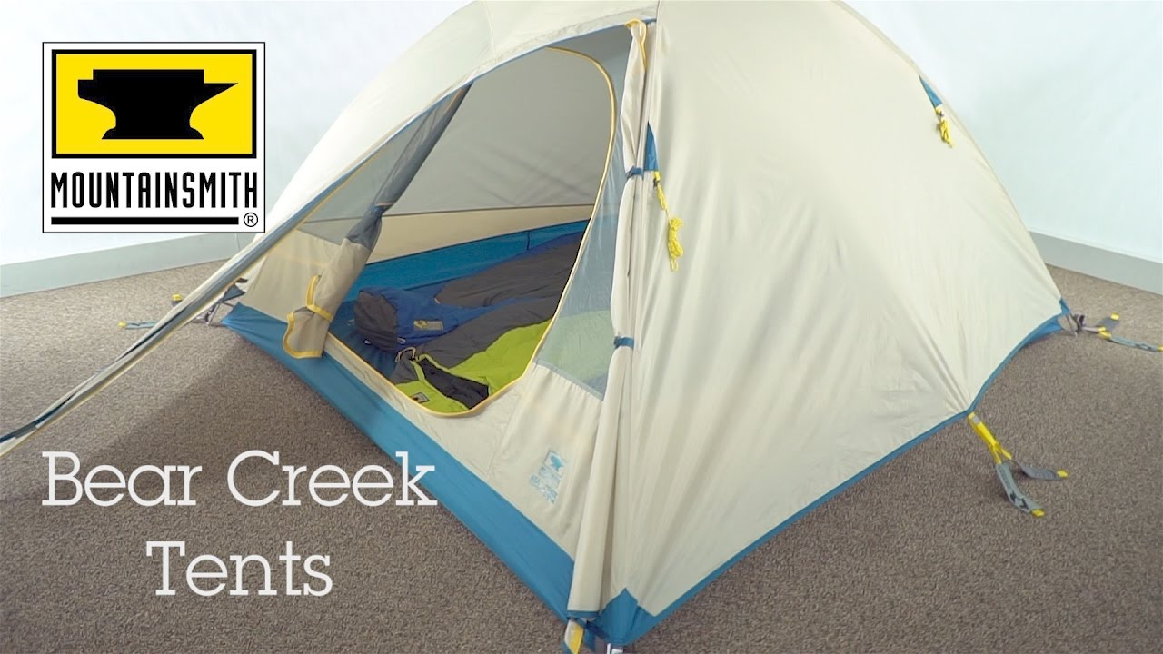 Mountainsmith Bear Creek 2 3 u0026 4 Tents & Mountainsmith Bear Creek 2 3 u0026 4 Tents - YouTube