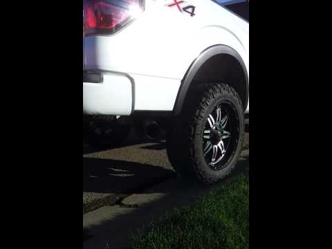 "2012 F150 EB 4"" Heartthrob Exhaust with Magnaflow Muffler(12773)"