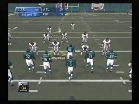 NFL GameDay 2003 Playstation 2 (Falcons vs Eagles)