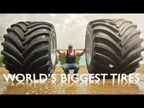 Worlds Biggest Farm Tire! What Are We Up To?