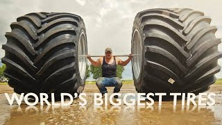 Download Worlds Biggest Farm Tire! What Are We Up To? Mp3 and Videos