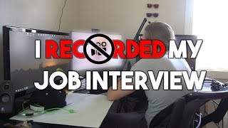 I RECORDED MY JOB INTERVIEW - WHAT ITS LIKE IN PROGRAMMING (Part 2.)