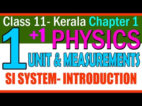 Physics |FREE || ch(2) Unit and Measurements |Part 1 |Introduction to SI UNITS|Class 11 KERALA