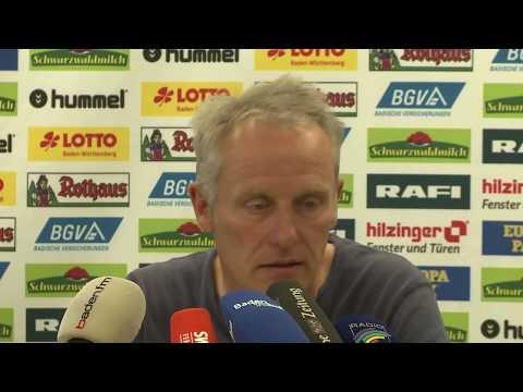 SC Freiburg gegen Hertha: Christian Streich vor dem Spiel gegen Berlin