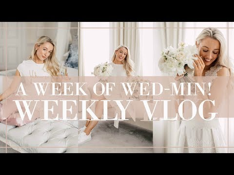 A Week of Wed-Min! ❤ Diamonds, Dresses & Dinners - Weekly Vl