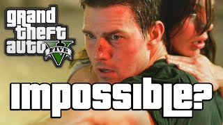 GTA V: IMPOSSIBLE MISSION!? (GTA 5 Next Gen Funny Moments)
