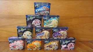Breyer's Ice Cream - 10 Wonderful Flavors at a Glance Thumbnail