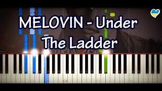 MELOVIN – Under The Ladder (Piano Cover & Tutorial + Sheet, Lyrics) - Eurovision 2018