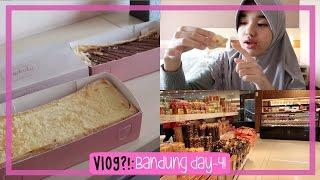 Download Video VLOG?! [25]: Beli Oleh-Oleh Malah Di Makan Sendiri😂 | Bandung Day 4 MP3 3GP MP4