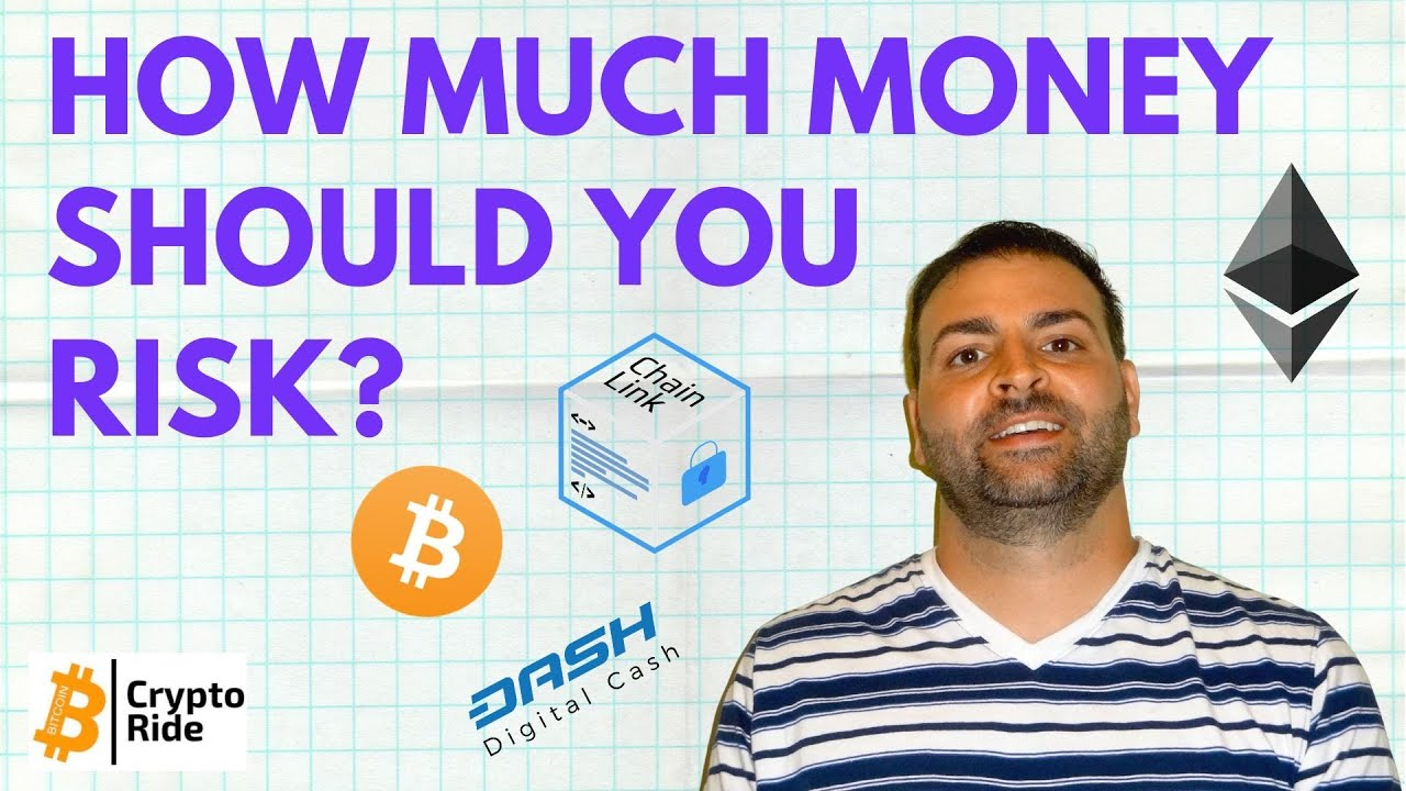 how much money should you invest in cryptocurrency