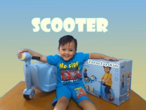 Mainan Skuter Koper Anak Skoot Scooter Suitcase Toys Kids