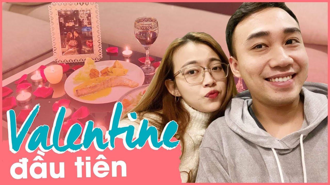 Valentine đầu tiên của vợ chồng son | Hạnh Chee Vlog