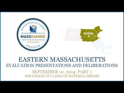 MGC Meeting 9.10.14 (Part 1): Region A resort-casino evaluation process Part 5