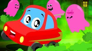Little Red Car | Cartoon Videos And Songs For Children | Vehicles For Kids