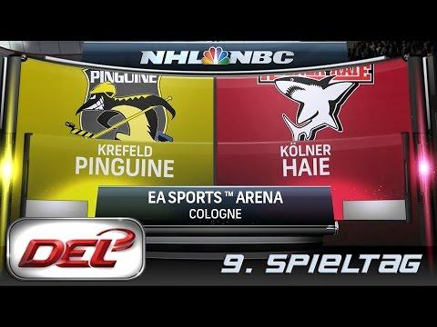 Deutsche Eishockey Liga [DEL] #009 - Kölner Haie - Krefeld Pinguine ★ Let's Commentary NHL 15