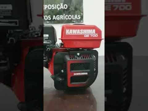 Motor estacionário Kawashima GE700 Partida Manual 4 tempos
