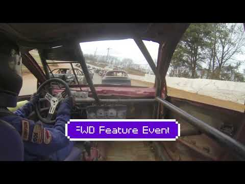 The Hangover at 411 Motor Speedway FWD In-Car 29R - Full Event December 27th 2019