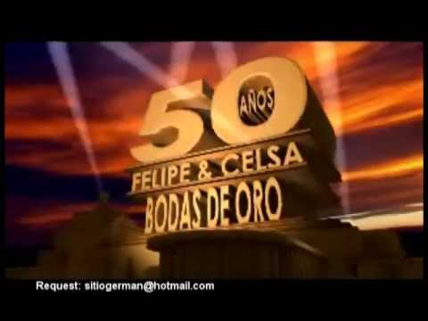 Introductory video for marriage Felipe and Celsa (golden ...
