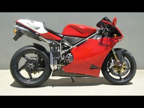 ducati 996 exhaust sound and flycompilation - youtube