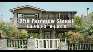259 Fairview Street in Laguna Beach, California