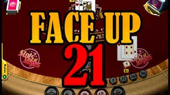 Face Up 21 Table Game Video at Slots of Vegas
