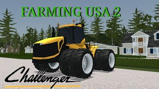 #37 Farming USA 2 - Novo trator challenger! Fazenda Americana