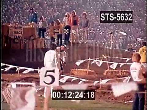 1975 Superbowl of Motocross at L.A. Coliseum