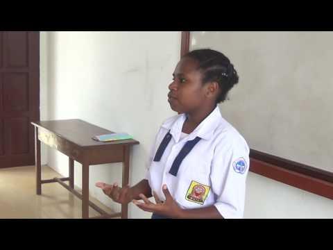 Liberty, Pelatihan Bahasa Inggris 300 Pelajar Kabupaten Fakfak, 2015