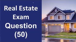 Real Estate Exam Practice Questions - 50 Questions with Answers