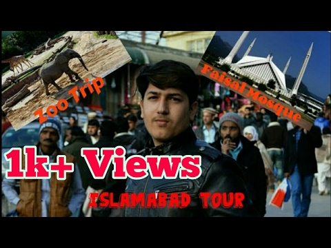 Islamabad Trip|Pakistan Vlog #1 |Fasial Mosque|Zoo| Camel Ride |The BaaisTV |HD
