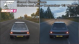 Forza Horizon 4 - 1984 Peugeot 205 T16 Sound Comparison - Before and After December 13 Update