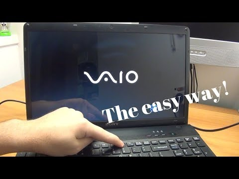 How To Enter The Boot Options Menu On Most Sony Vaio Laptops - The Easy Way!