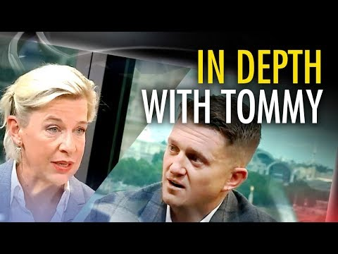 """Tommy Robinson tells Katie Hopkins: """"I'm going to be put back in prison"""""""