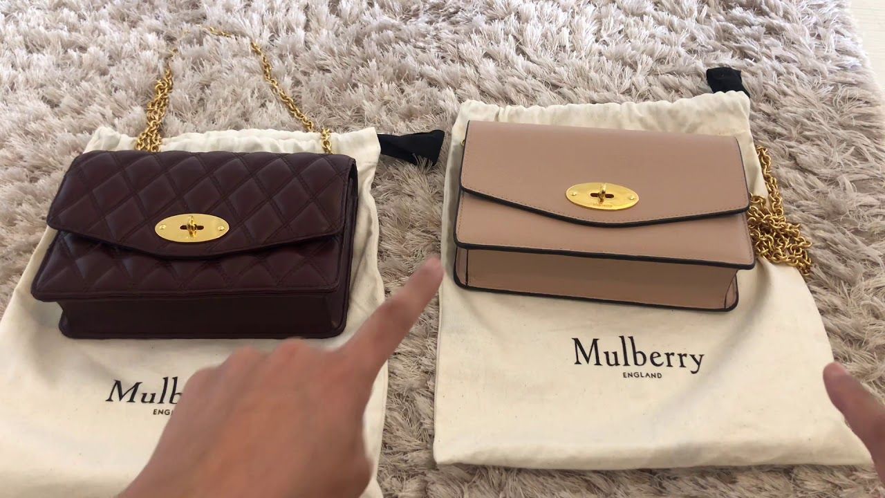 6b10274cc267 Double Mulberry Darley small bag reveal - YouTube