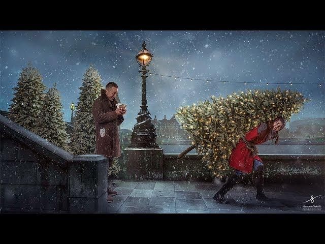Christmas Tree Photo Manipulation Tutorial